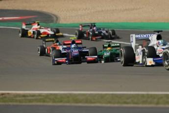 World © Octane Photographic Ltd. GP2 German GP, Nurburgring, Sunday 7th July 2013. Race 2. Jolyon Palmer - Carlin. Digital Ref : 0747lw1d8219