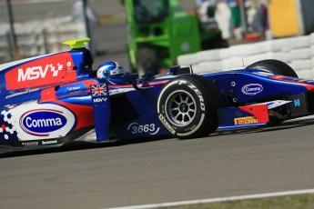 World © Octane Photographic Ltd. GP2 German GP, Nurburgring, Sunday 7th July 2013. Race 2. Jolyon Palmer - Carlin. Digital Ref : 0747lw1d8404