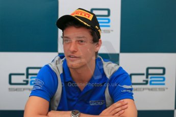 World © Octane Photographic Ltd. GP2 Spain Race 1 Press Conference - 11th May 2013. Jolyon Palmer - Carlin. Digital Ref :
