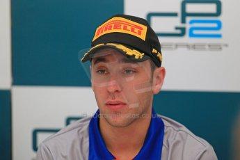 World © Octane Photographic Ltd. GP2 Spain Race 1 Press Conference - 11th May 2013. Robert Frijns - Hilmer Motorsport. Digital Ref :
