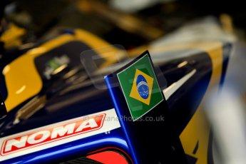 World © Octane Photographic Ltd. GP2 British GP, Silverstone, Friday 28th June 2013. Practice. Felipe Nasr - Carlin. Digital Ref : 0725ce1d6173