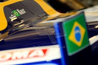 World © Octane Photographic Ltd. GP2 British GP, Silverstone, Friday 28th June 2013. Practice. Felipe Nasr - Carlin. Digital Ref : 0725ce1d6177