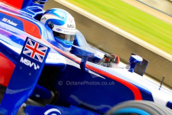 World © Octane Photographic Ltd. GP2 British GP, Silverstone, Friday 28th June 2013. Practice. Jolyon Palmer - Carlin. Digital Ref : 0725ce1d6591