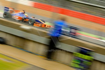 World © Octane Photographic Ltd. GP2 British GP, Silverstone, Friday 28th June 2013. Practice. Robin Frijns - Hilmer Motorsport. Digital Ref : 0725ce1d6612
