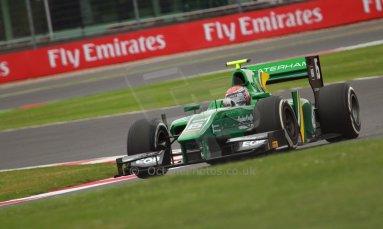 World © Octane Photographic Ltd. GP2 British GP, Silverstone, Friday 28th June 2013. Practice. Alexander Rossi – EQ8 Caterham Racing. Digital Ref : 0725cj7d0665