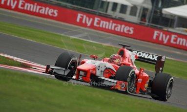 World © Octane Photographic Ltd. GP2 British GP, Silverstone, Friday 28th June 2013. Practice. Johnny Cecotto – Arden International. Digital Ref : 0725cj7d0668