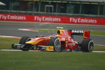 World © Octane Photographic Ltd. GP2 British GP, Silverstone, Friday 28th June 2013. Practice. Fabio Leimer- Racing Engineering. Digital Ref: 0725cj7d0673