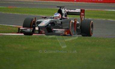 World © Octane Photographic Ltd. GP2 British GP, Silverstone, Friday 28th June 2013. Practice. Rene Binder - Venezuela GP Lazarus. Digital Ref : 0725cj7d0695