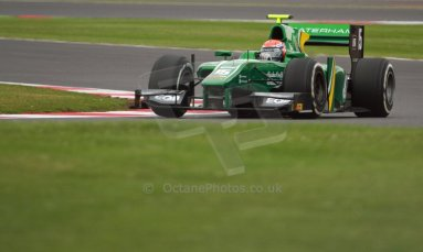 World © Octane Photographic Ltd. GP2 British GP, Silverstone, Friday 28th June 2013. Practice. Alexander Rossi – EQ8 Caterham Racing..Digital Ref : 0725cj7d0738