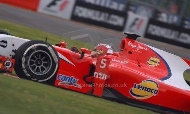 World © Octane Photographic Ltd. GP2 British GP, Silverstone, Friday 28th June 2013. Practice. Johnny Cecotto – Arden International. Digital Ref : 0725cj7d0748