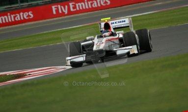 World © Octane Photographic Ltd. GP2 British GP, Silverstone, Friday 28th June 2013. Practice. Simon Trummer – Rapax. Digital Ref : 0725cj7d0767