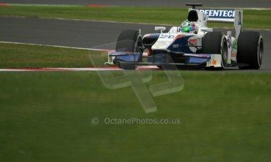 World © Octane Photographic Ltd. GP2 British GP, Silverstone, Friday 28th June 2013. Practice. Nathanaël Berthon - Trident Racing. Digital Ref : 0725cj7d0797
