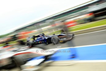 World © Octane Photographic Ltd. GP2 British GP, Silverstone, Friday 28th June 2013. Qualifying. Tom Dillmann – Russian TIME. Digital Ref : 0727ce1d7361