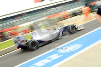 World © Octane Photographic Ltd. GP2 British GP, Silverstone, Friday 28th June 2013. Qualifying. Kevin Ceccon - Trident Racing. Digital Ref : 0727ce1d7409