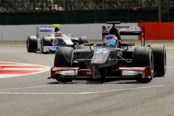 World © Octane Photographic Ltd./Chris Enion. GP2 British GP, Silverstone, Saturday 29th June 2013. Race 1. Rene Binder - Venezuela GP Lazarus. Digital Ref : 0731ce1d8262