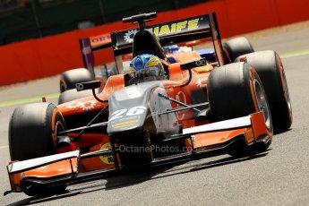 World © Octane Photographic Ltd./Chris Enion. GP2 British GP, Silverstone, Saturday 29th June 2013. Race 1. Adrian Quaife-Hobbs -  MP Motorsport. Digital Ref : 0731ce1d8303