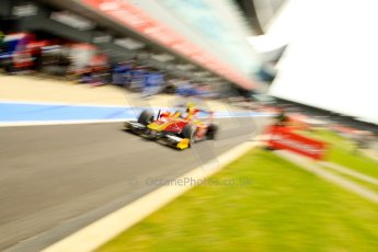 World © Octane Photographic Ltd./Chris Enion. GP2 British GP, Silverstone, Saturday 29th June 2013. Race 1. Fabio Leimer- Racing Engineering. Digital Ref : 0731ce1d8482