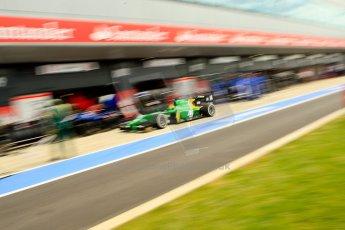 World © Octane Photographic Ltd./Chris Enion. GP2 British GP, Silverstone, Saturday 29th June 2013. Race 1. Sergio Canamasas – EQ8 Caterham Racing. Digital Ref: 0731ce1d8517