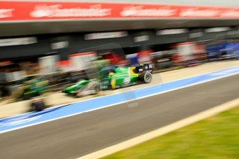 World © Octane Photographic Ltd./Chris Enion. GP2 British GP, Silverstone, Saturday 29th June 2013. Race 1. Sergio Canamasas – EQ8 Caterham Racing. Digital Ref: 0731ce1d8519