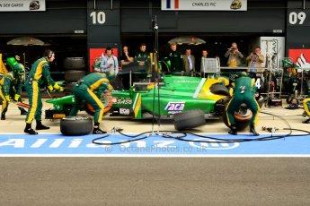 World © Octane Photographic Ltd./Chris Enion. GP2 British GP, Silverstone, Saturday 29th June 2013. Race 1. Sergio Canamasas – EQ8 Caterham Racing. Digital Ref: 0731ce1d8527