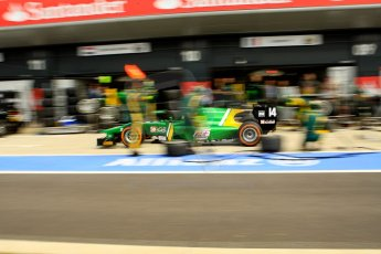 World © Octane Photographic Ltd./Chris Enion. GP2 British GP, Silverstone, Saturday 29th June 2013. Race 1. Sergio Canamasas – EQ8 Caterham Racing. Digital Ref: 0731ce1d8534