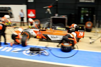 World © Octane Photographic Ltd./Chris Enion. GP2 British GP, Silverstone, Saturday 29th June 2013. Race 1. Adrian Quaife-Hobbs -  MP Motorsport. Digital Ref : 0731ce1d8546