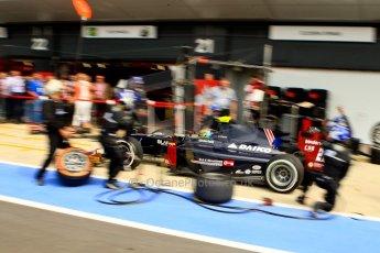 World © Octane Photographic Ltd./Chris Enion. GP2 British GP, Silverstone, Saturday 29th June 2013. Race 1. Kevin Giovesi - Venezuela GP Lazarus. Digital Ref : 0731ce1d8601