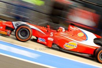 World © Octane Photographic Ltd./Chris Enion. GP2 British GP, Silverstone, Saturday 29th June 2013. Race 1. Johnny Cecotto – Arden International. Digital Ref : 0731ce1d8621