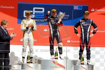 World © Octane Photographic Ltd./Chris Enion. GP2 British GP, Silverstone, Saturday 29th June 2013. Race 1. Sam Bird – Russian TIME. Digital Ref : 0731ce1d8817