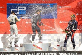 World © Octane Photographic Ltd./Chris Enion. GP2 British GP, Silverstone, Saturday 29th June 2013. Race 1. Sam Bird – Russian TIME. Digital Ref : 0731ce1d8844