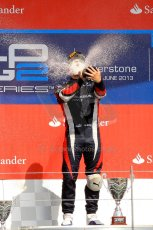 World © Octane Photographic Ltd./Chris Enion. GP2 British GP, Silverstone, Saturday 29th June 2013. Race 1. Sam Bird – Russian TIME. Digital Ref : 0731ce1d8864