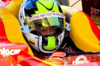 World © Octane Photographic Ltd./Chris Enion. GP2 British GP, Silverstone, Sunday 30th June 2013. Race 2 Julián Leal - Racing Engineering. Digital Ref : 0732ce1d9364