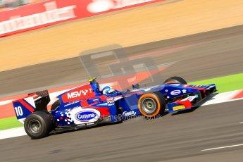 World © Octane Photographic Ltd./Chris Enion. GP2 British GP, Silverstone, Sunday 30th June 2013. Race 2. Jolyon Palmer - Carlin. Digital Ref : 0732ce1d9487