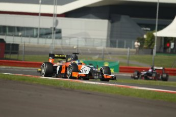 World © Octane Photographic Ltd. GP2 British GP, Silverstone, Sunday 30th June 2013. Race 2 Adrian Quaife-Hobbs -  MP Motorsport. Digital Ref : 0732lw1d1723