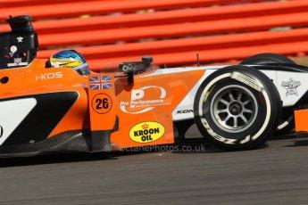 World © Octane Photographic Ltd. GP2 British GP, Silverstone, Sunday 30th June 2013. Race 2 Adrian Quaife-Hobbs -  MP Motorsport. Digital Ref : 0732lw1d1728
