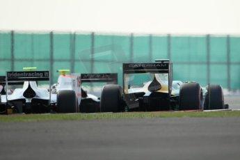 World © Octane Photographic Ltd. GP2 British GP, Silverstone, Sunday 30th June 2013. Race 2 Sergio Canamasas – EQ8 Caterham Racing. Digital Ref : 0732lw1d1794