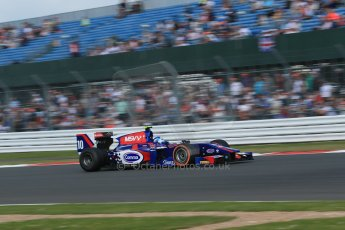 World © Octane Photographic Ltd. GP2 British GP, Silverstone, Sunday 30th June 2013. Race 2. Jolyon Palmer - Carlin. Digital Ref : 0732lw1d1934