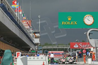 World © Octane Photographic Ltd. GP2 Spanish GP, Circuit de Catalunya, Friday 10th May 2013. Qualifying. Digital Ref : 0662cb1d9569