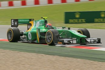 World © Octane Photographic Ltd. GP2 Spanish GP, Circuit de Catalunya, Friday 10th May 2013. Qualifying. Alexander Rossi - Caterham Racing. Digital Ref : 0662cb1d9921