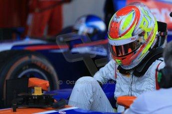 World © Octane Photographic Ltd. GP2 Spanish GP, Circuit de Catalunya, Saturday 11th May 2013. Race 1. Robin Frijns - Hilmer Motorsport. Digital Ref : 0666cb1d1650