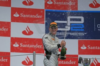 World © Octane Photographic Ltd. GP2 Spanish GP, Circuit de Catalunya, Sunday 12th May 2013. GP2 Race 2. Robin Frijns - Hilmer Motorsport. Digital Ref : 0670cb1d2379