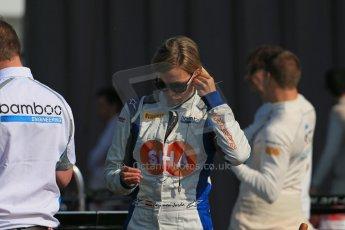 World © Octane Photographic Ltd. Saturday 6th July 2013. Dallara GP3/13 - German GP - Nurburgring - Qualifying. Bamboo Engineering – Carmen Jorda. Digital ref : 0743lw1d5737