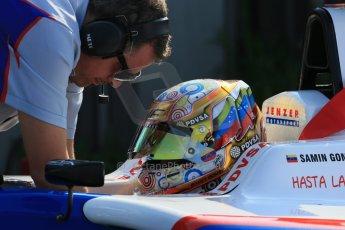 World © Octane Photographic Ltd. Saturday 6th July 2013. Dallara GP3/13 - German GP - Nurburgring - Qualifying. Jenzer Motorsport – Samin Gomez. Digital ref : 0743lw1d5772