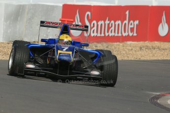 World © Octane Photographic Ltd. Saturday 6th July 2013. Dallara GP3/13 - German GP - Nurburgring - Qualifying. Carlin – Luis Sa Silva. Digital ref : 0743lw1d5788