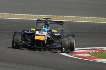 World © Octane Photographic Ltd. Saturday 6th July 2013. Dallara GP3/13 - German GP - Nurburgring - Qualifying. MW Arden – Robert Visolu. Digital ref : 0743lw1d5917