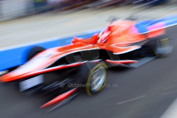 World © Octane Photographic Ltd./Chirs Enion. Saturday 29th June 2013. Dallara GP3/13 - British GP - Silverstone - Qualifying. Marussia Manor Racing – Dino Zamparelli. Digital ref : 0728ce1d7955