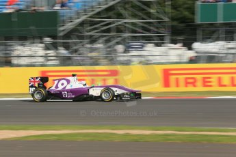 World © Octane Photographic Ltd. Saturday 29th June 2013. Dallara GP3/13 - British GP - Silverstone - Qualifying. Status Grand Prix – Josh Webster. Digital ref : 0728lw1d1499