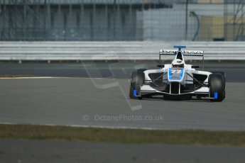World © Octane Photographic Ltd. GP3 Testing - Wednesday 3rd April 2013 Dallara GP3/13 - Silverstone. Bamboo Engineering – Carmen Jorda. Digital ref : 0627lw1d0457
