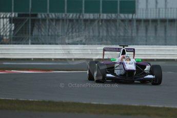 World © Octane Photographic Ltd. GP3 Testing - Wednesday 3rd April 2013 Dallara GP3/13 - Silverstone. Status Grand Prix – Josh Webster. Digital ref : 0627lw1d0460
