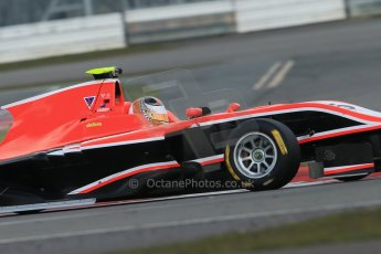 World © Octane Photographic Ltd. GP3 Testing - Wednesday 3rd April 2013 Dallara GP3/13 - Silverstone. Marussia Manor Racing – Nick Cassidy. Digital ref : 0627lw1d0616